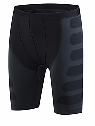 cheap -Men's Compression Shorts Compression Base layer Underwear Shorts Bottoms Lightweight Breathable Quick Dry Soft Sweat-wicking Black Black / Red Green / Black Road Bike Mountain Bike MTB Basketball