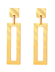 cheap -Women's Drop Earrings Hollow Out Fashion Oversized Earrings Jewelry Gold For Birthday Gift Daily 1 Pair