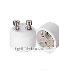 cheap -GU10(Female Socket) to MR16 (Male Plug) Adapter Socket Base Halogen Light Bulb Lamp Adapter Converter Lamp Holder Converters