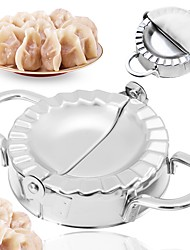 cheap -Stainless Steel Dumpling Maker Wraper Dough Cutter Pie Ravioli Kitchen