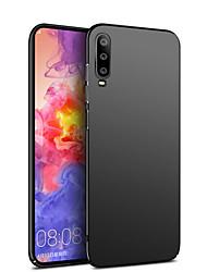 Недорогие -Кейс для Назначение Huawei Huawei P20 / Huawei P20 Pro / Huawei P20 lite Ультратонкий / Матовое Кейс на заднюю панель Однотонный Твердый ПК / P10 Plus / P10 Lite / P10