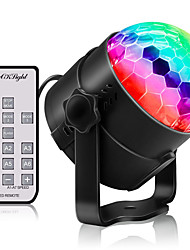 cheap -YouOKLight 1pc 3 W 180 lm 3 LED Beads Remote Control / RC LED Stage Light / Spot Light RGB 85-265 V Commercial Home / Office Children's Room