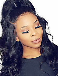 cheap -Dolago Body Wave 360 Lace Frontal Wigs Unprocessed Human Hair 360 Lace Front Wigs 180% Density with Baby Hair