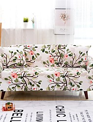 cheap -Sofa Cover Plants Yarn Dyed Polyester / Cotton Blend Slipcovers
