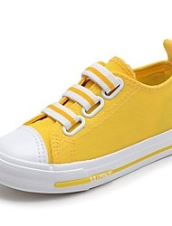 cheap -Girls' Comfort Canvas Sneakers Toddler(9m-4ys) / Little Kids(4-7ys) / Big Kids(7years +) Yellow / Green / Pink Spring / Summer