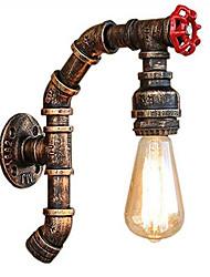 Недорогие -JSGYlights труба Простой / Ретро Настенные светильники Гостиная / Столовая Металл настенный светильник 110-120Вольт / 220-240Вольт 60 W