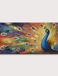 abordables -Peinture à l'huile Hang-peint Peint à la main - Abstrait Pop Art Classique Moderne Sans cadre intérieur