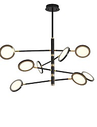 cheap -8-Light 110 cm Mini Style / LED Chandelier Metal Mini Electroplated / Painted Finishes LED / Modern 110-120V / 220-240V