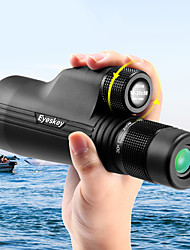 cheap -Eyeskey 10-30 X 50 mm Monocular Roof Outdoor Night Vision in Low Light Wear-Resistant Easy Carrying 42-33 m Fully Multi-coated BAK4 Hunting Hiking Outdoor Exercise Spectralite Coating Aluminium Alloy