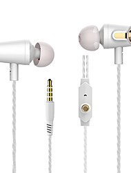cheap -LITBest Wired In-ear Earphone Wired Stereo with Microphone Mobile Phone