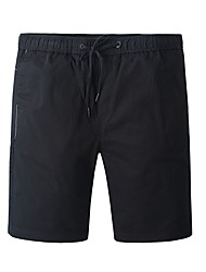 cheap -Men's Hiking Shorts Hiking Cargo Shorts Outdoor Breathable Quick Dry Wear Resistance Shorts Hiking Multisport Camping Black 28 29 30 31 32 / Micro-elastic / High Waist / Elastic Waist