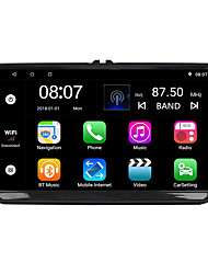 Недорогие -Factory OEM YYD-9010G 9 дюймовый 2 Din Android 8.1 В-Dash DVD-плеер Quad Core для Volkswagen RCA / Аудио / GPS Поддержка MOV / M3V / AMV MP3 / WMA / WAV JPEG / GIF / BMP