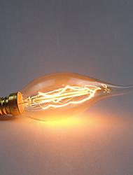 cheap -1pc 40 W E14 C35 Yellow Transparent Body Incandescent Vintage Edison Light Bulb 220-240 V