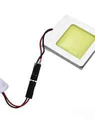 Недорогие -1pcs T10 Автомобиль Лампы 8 W COB Светодиодная лампа Подсветка для номерного знака / Внутреннее освещение Назначение Все года