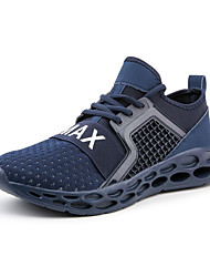 cheap -Men's Comfort Shoes Mesh Spring & Summer / Fall & Winter Sporty / Casual Athletic Shoes Running Shoes / Fitness & Cross Training Shoes Non-slipping Black / Red / Blue