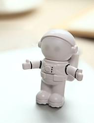 Недорогие -Новинка usb астронавт космонавт светодиодный регулируемый ночной свет для настольного ноутбука pc лампа творческий гибкий usb светодиодная лампа