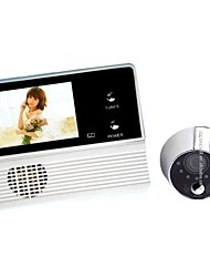 cheap -GW601B-2BH Wireless Built in out Speaker ≤3 inch Hands-free 240*3*320 Pixel One to One video doorphone