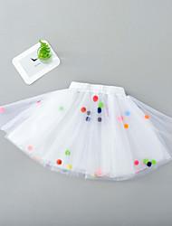 cheap -Petticoat Hoop Skirt Tutu Under Skirt 1950s Spandex Red Blue Pink Petticoat / Kid's / Crinoline