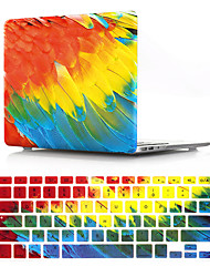 cheap -Feather Protector Cover for MacBook Pro Retina 11/12/13/15 Inch Case Pvc Hard Shell and Keyboard Membrane US English