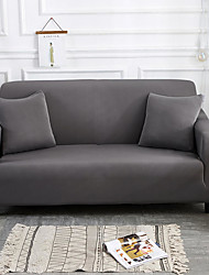 cheap -Sofa Cover High Stretch Grey Combinatorial Soft Elastic Polyester Slipcovers