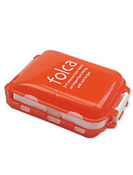 cheap -Travel Pill Box / Case Portable / Luggage Accessory Plastic 10*7*3.5 cm