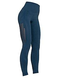 cheap -Women's High Rise Yoga Pants Fashion Running Fitness Tights Activewear Tummy Control Micro-elastic