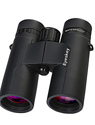 cheap -Eyeskey 8 X 42 mm Binoculars Roof Achromatic refractor Waterproof Wear-Resistant Wide Angle Fully Multi-coated BAK4 Camping / Hiking Hunting Outdoor Exercise Spectralite Coating Aluminium / IPX-7