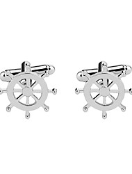 cheap -Cufflinks Elegant Brooch Jewelry Silver For Gift Ceremony