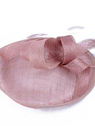 cheap -Women's Ladies Tiaras Fascinators For Wedding Party / Evening Prom Princess Feather Fabric Blushing Pink Khaki White