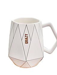 cheap -Drinkware Mugs&Cups Porcelain Boyfriend Gift / Girlfriend Gift Casual / Daily