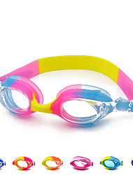 cheap -Swimming Goggles Waterproof Anti-Fog For Adults' Silicone Rubber PC Pink Grays Blacks