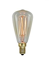 cheap -1pc 40 W E14 ST48 Yellow Transparent Body Incandescent Vintage Edison Light Bulb 220-240 V