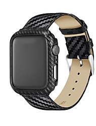 cheap -Case For Apple Apple Watch Series 4 Genuine Leather / Plastic Apple