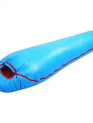 Недорогие -Спальный мешок на открытом воздухе Походы Oval Shape -3 °C Пух белой утки С защитой от ветра Сохраняет тепло Быстровысыхающий Ультралегкий (UL) Износостойкость Осень Зима для