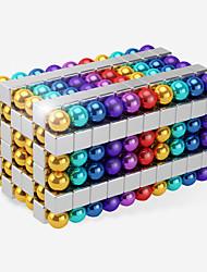 Недорогие -216 pcs Магнитные игрушки Магнитная игрушка Магнитные шарики Магнитные игрушки Сильные магниты из редкоземельных металлов Головоломка Куб
