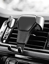 cheap -Car Mount Stand Holder Air Outlet Grille Buckle Type ABS Holder