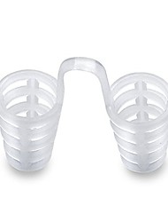 cheap -Anti Snoring Breathe Easy Sleep Nose Clip Snore Stopper Aid Nasal Dilators Device Congestion Aid No Strips Cones