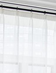 Недорогие -Современный Light-фильтрация 1 панель Прозрачный Гостиная   Curtains