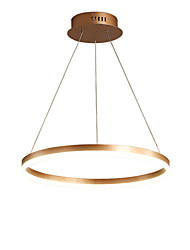 cheap -36W Modern Gold Metal Simplicity Acrylic LED Pendant Lights  Indoor Light Nordic Style Living Room Bedroom Restaurant
