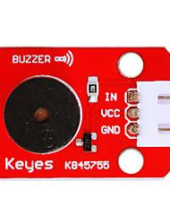 Недорогие -ky0043 белый пассивный зуммер (красный) с 3-контактным проводом DuPont