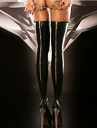 cheap -Women's Medium Stockings - Sexy Lady 15D Black One-Size