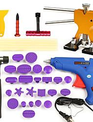 cheap -35pcs PDR Car Body Dent Repair Kit Hammer Puller Glue Gun Balance Bridge Scraper