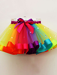 cheap -Unicorn Pony Dress Petticoat Hoop Skirt Tutu Rainbow Petticoat / Kid's / Under Skirt / Crinoline