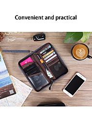 Недорогие -Органайзер для паспорта и документов Нейлон Компактность / Аксессуары для багажа / Многофункциональный Полотняное плетение