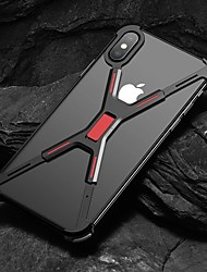 cheap -Case For Apple iPhone XS / iPhone XR / iPhone XS Max Shockproof Back Cover Solid Colored Hard Aluminium