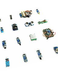 Недорогие -Raspberry Pi 3 ультразвуковой фоторецептор звук 16 в 1 сенсорный комплект