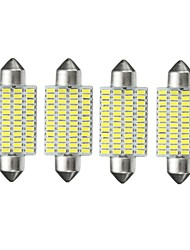 cheap -4pcs Car Light Bulbs 3 W SMD 3014 10~12 lm 48 LED Interior Lights For All years