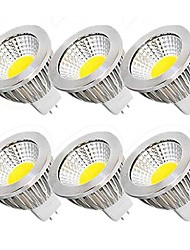 cheap -6pcs 5 W LED Spotlight 450 lm MR16 MR16 10 LED Beads COB Party Decorative Christmas Wedding Decoration Warm White Cold White 12 V / RoHS