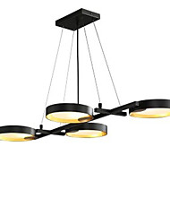 cheap -4-Light 45 cm Chandelier Acrylic Painted Finishes Traditional / Classic 110-120V / 220-240V