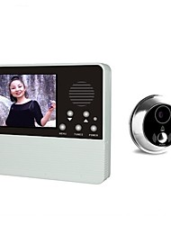 cheap -Digital VIDEO Door Phone Systems 3.2inch With Camera And Door Camera One to One video doorphone